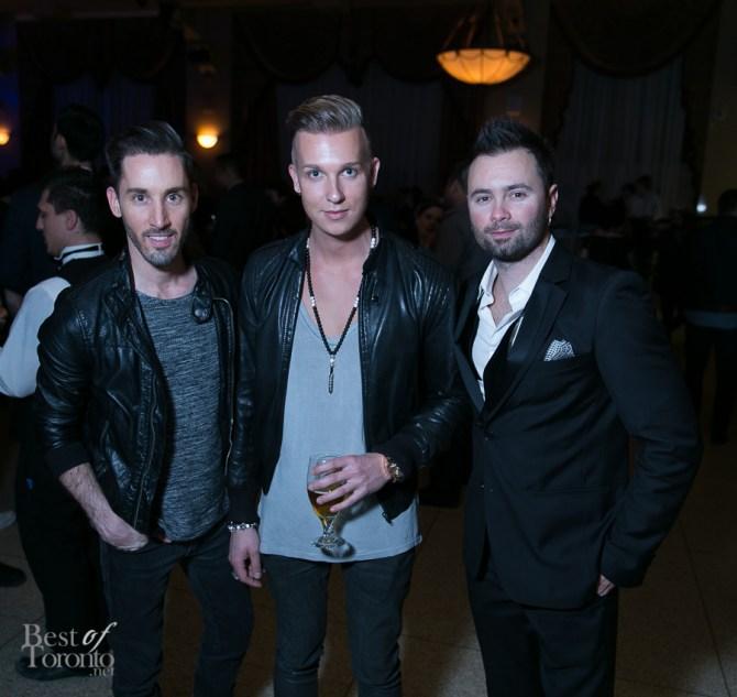 Matt Borrelli (CTV), Daniel Richter (Eleven Past One), Shawn Cavallo (Manic Drive)