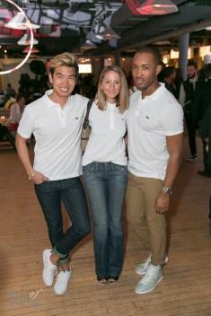 Alexander Liang, Justine Iaboni, Christian Thompson