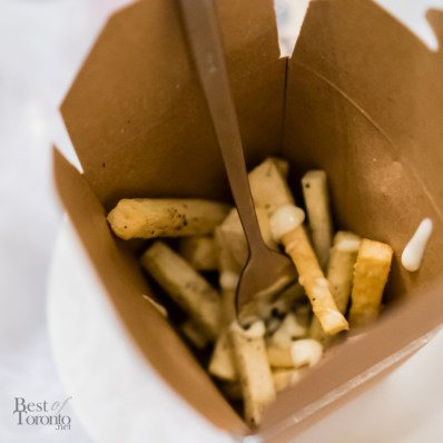 Yucca fries with lime and black pepper mayo