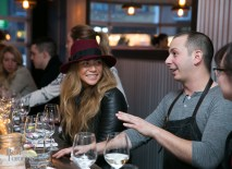 Chef Matt Basile with Open Wines at Lisa Marie Restaurant