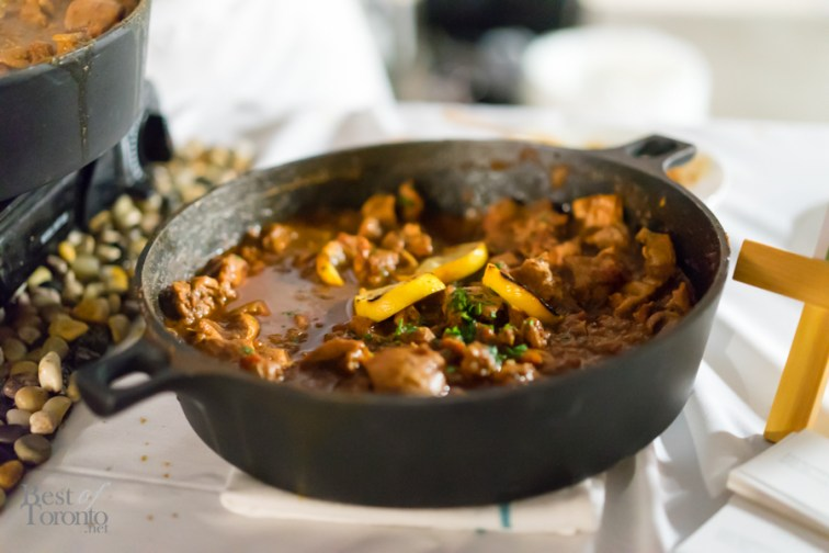Chicken tagine with seven vegetable couscous | Annona