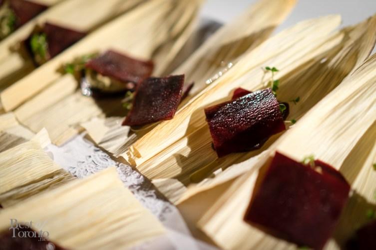 Beet raviolis | Cruda Cafe