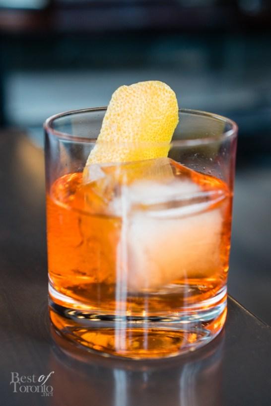 Hecho en Roble | Avion tequila, Martini Bianco, Aperol
