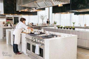 Second floor cooking studio