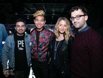 Sharad Mohan, Alexander Liang, Justine Iaboni | Photo: James Shay