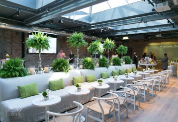The picturesque Aperture Room is Oliver & Bonacini's newest event space