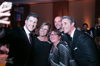 A selfie with Brad C. Smith, Bryan Baeumler, Ben Mulroney