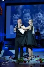 Bryan Baeumler and Sarah Baeumler on stage