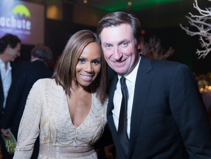 Deborah Cox, Wayne Gretzky
