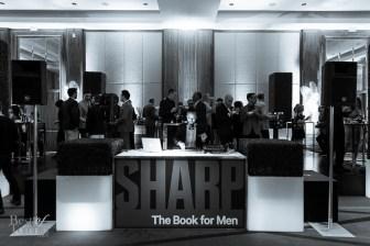 Sharp Magazine DJ Booth