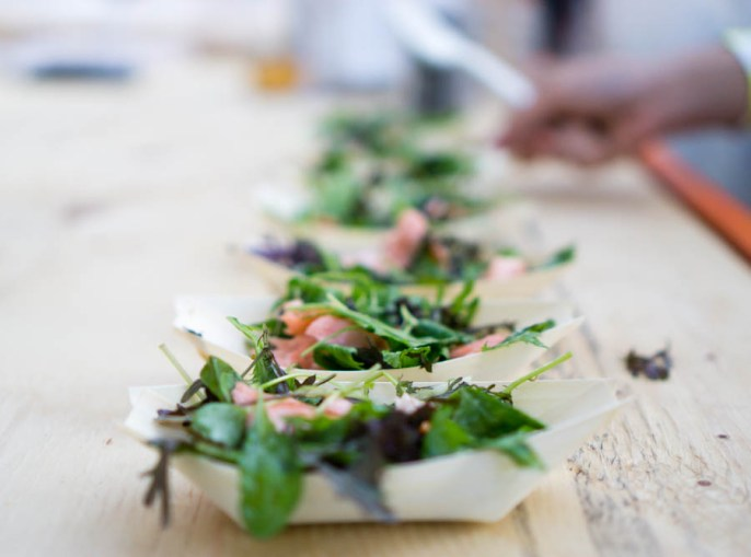 Farmer's Daughter's Smoked Trout Salad