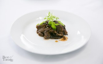 Chocolate pasta by Eyal Liebman, L is For...