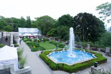 Casa Loma's backyard gardens