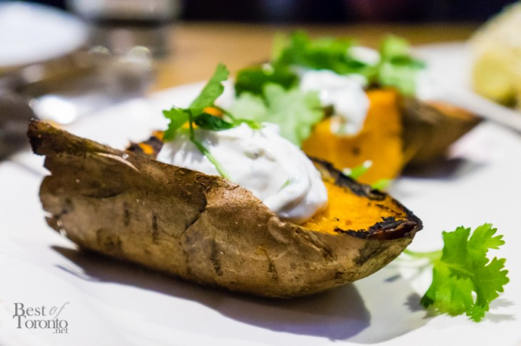 Salt Baked Sweet Potato