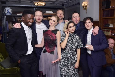 Mamoudou Athie;Mark O'Brien;Sara Paxton;Tommy Dewey;Molly Ephraim;Chris Coy;Josh Brener (Photo by Stefanie Keenan/Getty Images for Grey Goose)