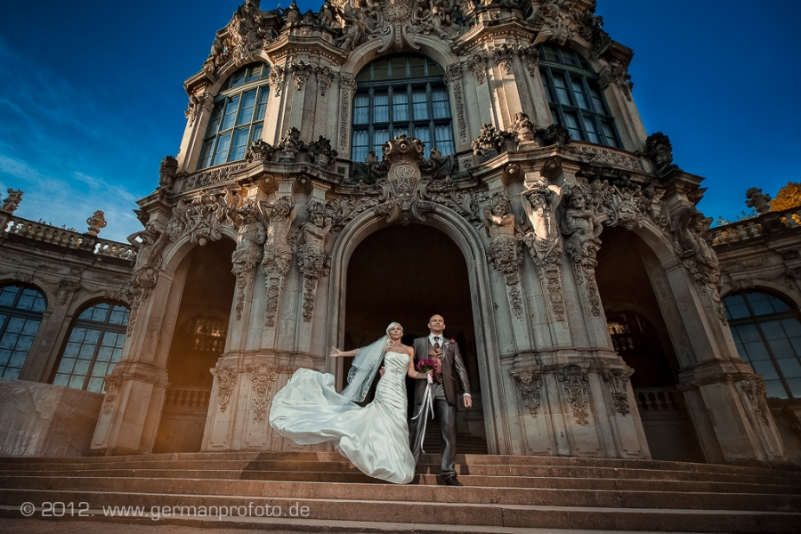 Sergio  Karina  Wedding in Dresden Germany
