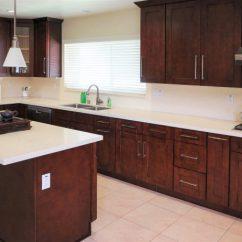 Kitchen Cabinets Wood Modern Bar Stools Why Cherry Endures Best Online Dark Reddish Brown Rta