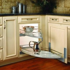 Kitchen Corner Cabinet Oval Table Pedestal Coolest Cabinets Best Online Technology Saving Space