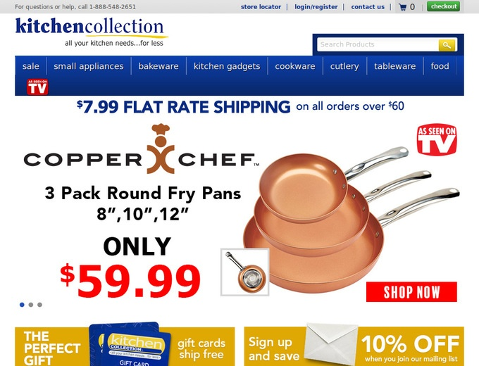 Kitchen Collection Coupons  KitchenCollectioncom Promo Codes