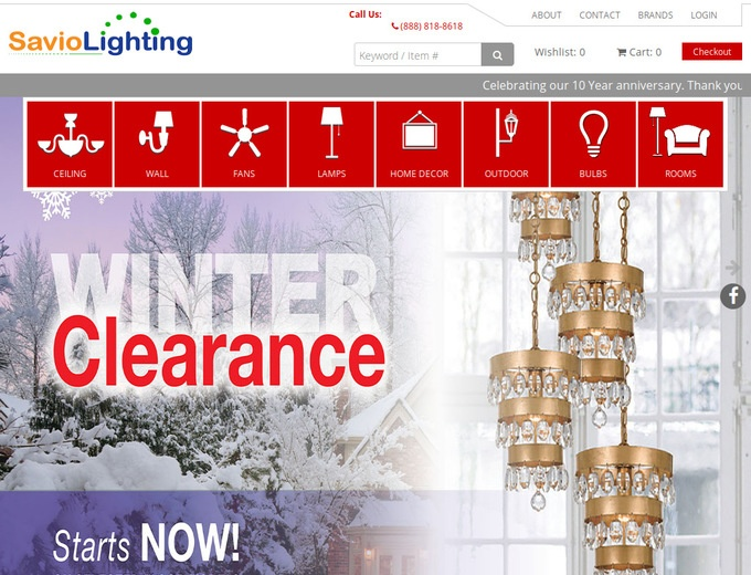 Savio Lighting Coupons  SavioLightingcom Discount Codes