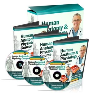 human anatomy books and CDs