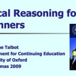 Critical Reasoning for Beginners