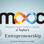 Entrepreneurship – Taylor's University