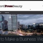 How to Make a Business Website in WordPress
