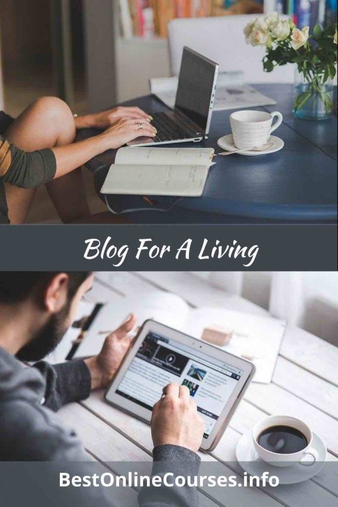 Blog For A Living