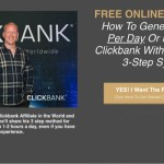 Free Clickbank Training
