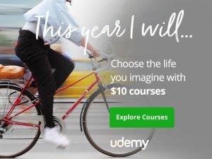 Udemy 10 Dollar Courses