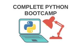 Udemy Complete Python Bootcamp