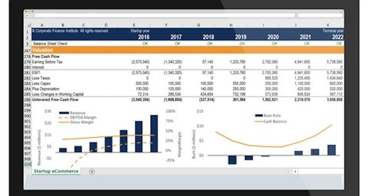 Learn Excel Shortcuts, Formulas & Functions for Financial Modeling – $10 Course