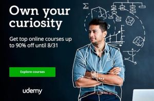 Udemy Own Your Curiosity