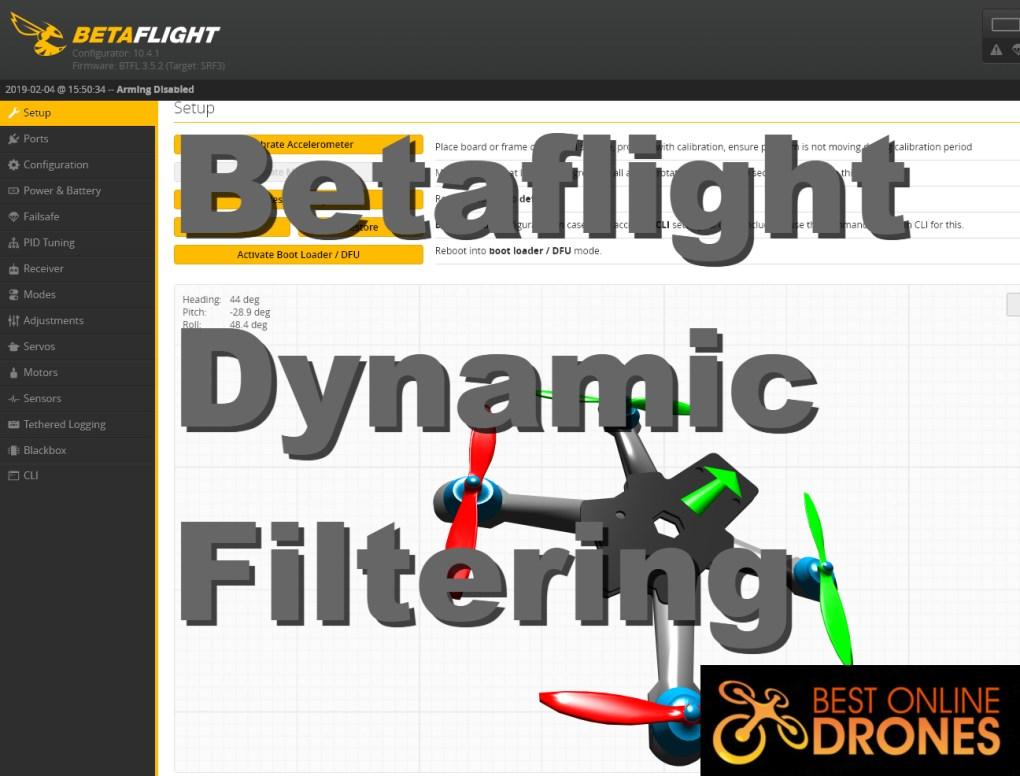 Explained: Betaflight Dynamic Filter | Best Online Drones