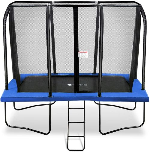 Exacme 7x10 Foot Rectangle Trampoline with Enclosure