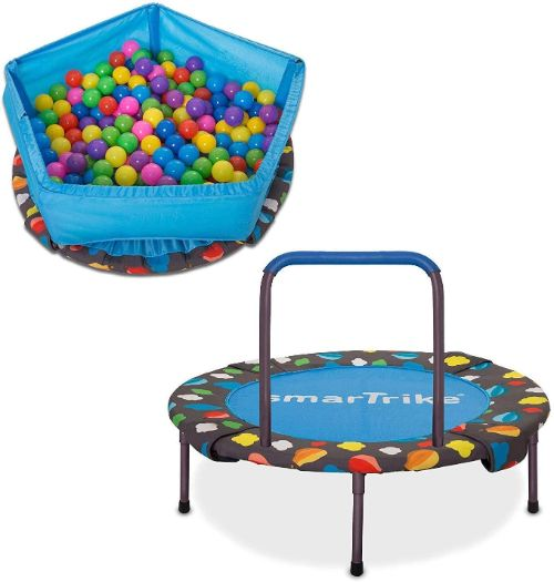 SmarTrike Indoor Toddler Trampoline