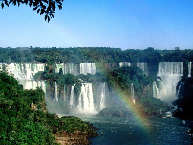 Iguazu Falls in Argentina/Brazil - Amazing scenery