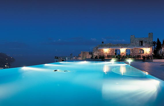 Hotel Caruso Belvedere  The best swimming pools in the world