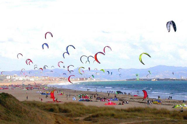 Tarifa in Spain - Tarifa beach