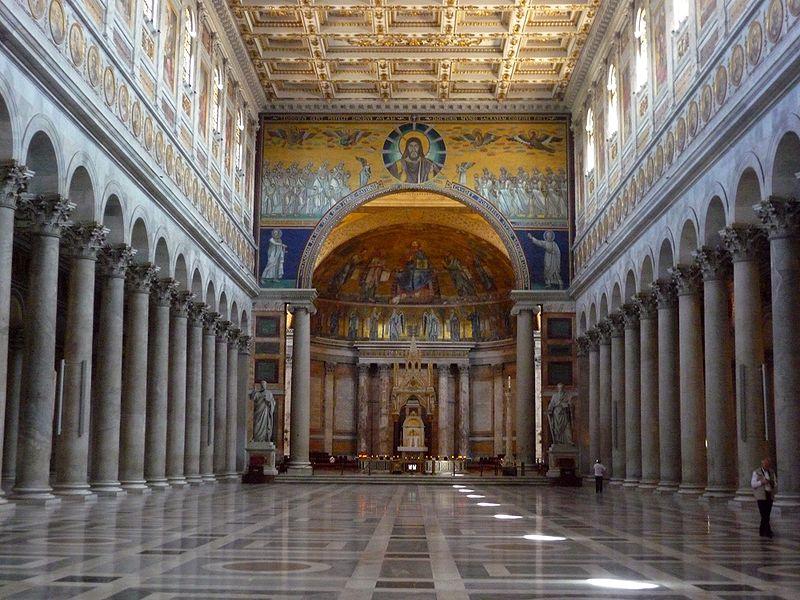 Basilica di San Paolo fuori le Mura - Interior view
