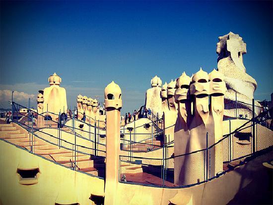 La Pedrera  Casa Mila  The best places to visit in