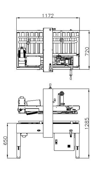 封箱机 Carton Sealer – 參數圖