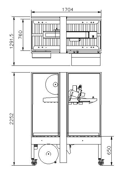 封箱机 Carton Sealer – RS-WA参数图
