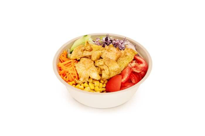 Best Pizza Poulet Salat