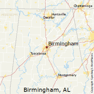 Best Places to Live in Birmingham Alabama