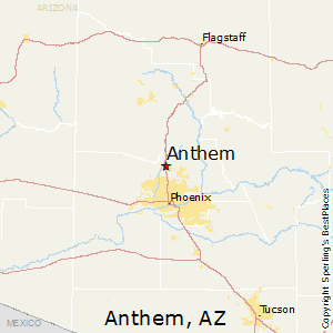 Best Places to Live in Anthem Arizona