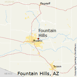 Best Places to Live in Fountain Hills Arizona