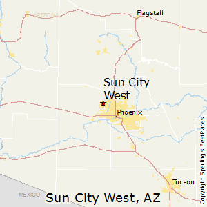 Best Places to Live in Sun City West Arizona
