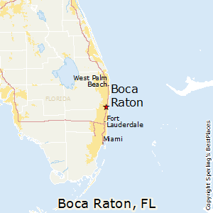 Best Places to Live in Boca Raton Florida